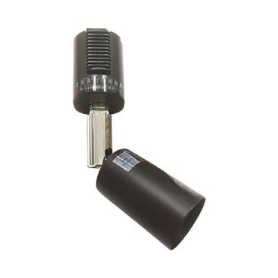 ライティングレール用スポットライト 口金E11 黒 ブラック 65Wまで【LED電球別売】