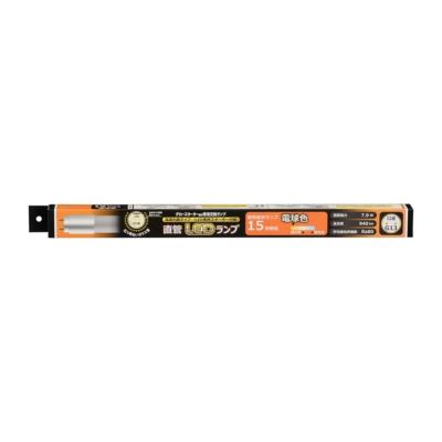 直管LEDランプ 15形相当 G13 電球色 グロースターター器具専用