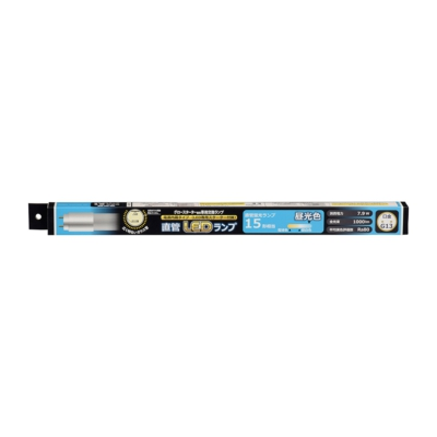 直管LEDランプ 15形相当 G13 昼光色 グロースターター器具専用