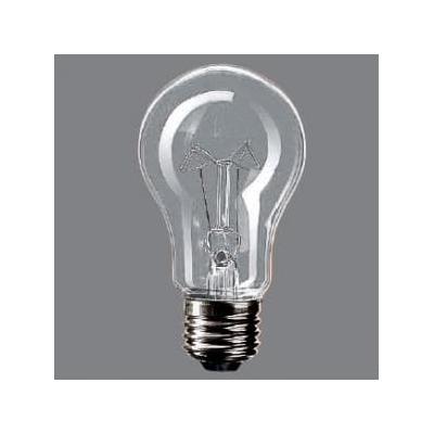 耐震電球 110V用 60形 E26口金 60ミリ径 クリア