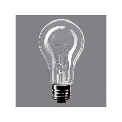 街灯用電球 E26口金 65ミリ径 100形 クリア