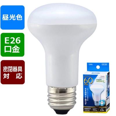 LED電球 レフランプ形 E26 60形相当 昼光色 [品番]06-0772
