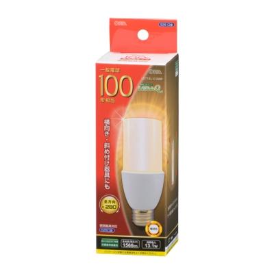 LED電球 T形 E26 100形相当 電球色 [品番]06-1932