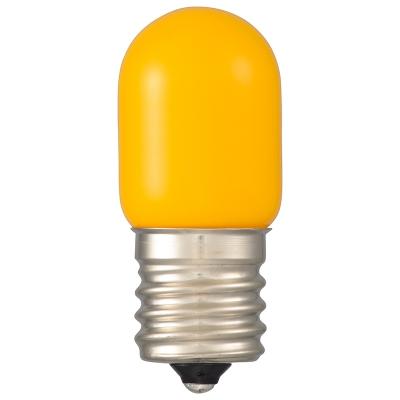 オーム電機 LEDナツメ球装飾用 T20/E17/0.8W/30lm/黄色 [品番]06-4627 LDT1Y-H-E17 13 画像2
