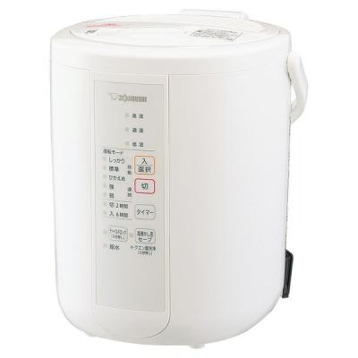 スチーム式加湿器 加湿量350ml/h ホワイト 象印 加湿器 スチーム式