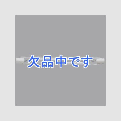 スタジオ用ハロゲン電球 両口金形 500形 R7s口金 クリア